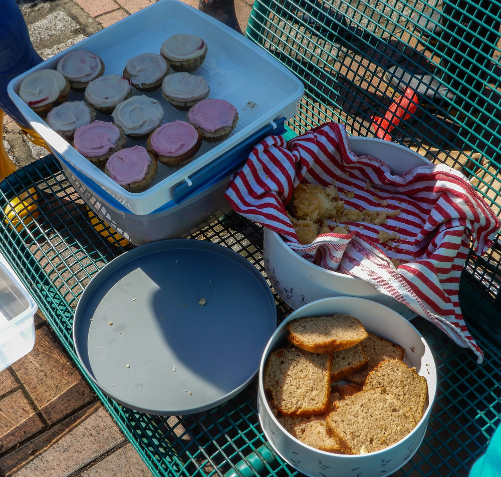 Cake!  | The River Pool Spring Clean | Great British Spring Clean | Litter Picking | Rhubarb and Custard Cupcakes | Vegan and Gluten Free Recipe | The Dopey Vegan