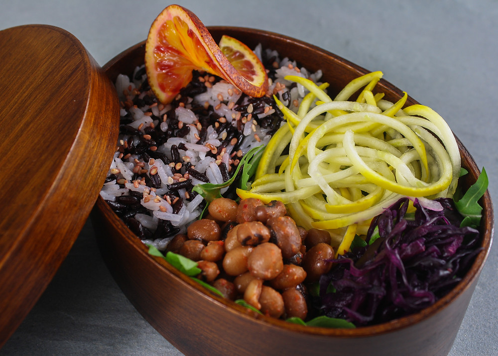 My own bento box  | Bento Brunch Workshop + my own Bento Box | Vegan and gluten free recipe | The Dopey Vegan