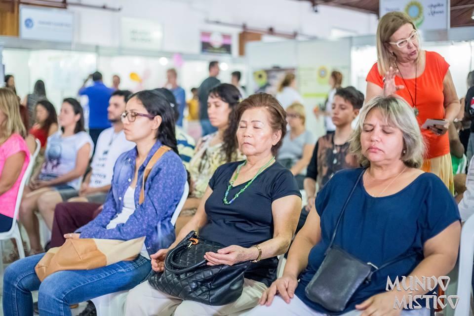 Palestra sobre Meditação e Respiraçã