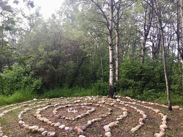 Labyrinth. So healing.