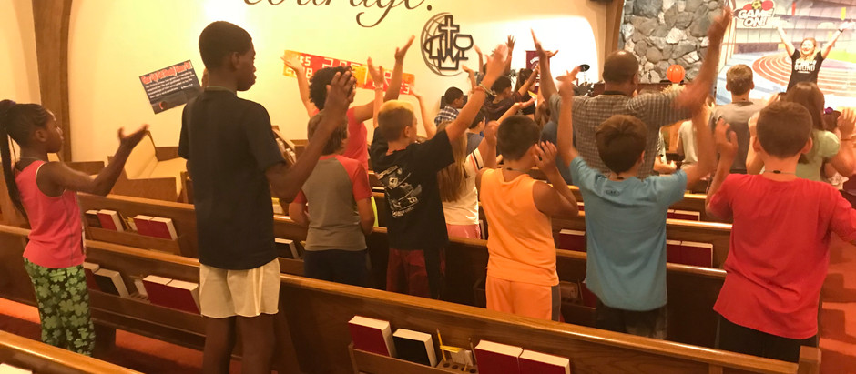 Here are some photos from VBS!