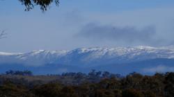 view of main range winter