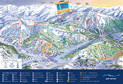 Perisher resort trail map