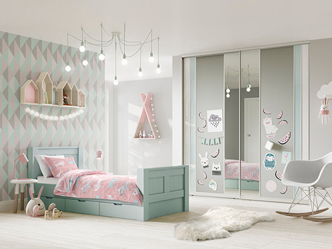 Freestyle West Sussex - Girls Bedroom