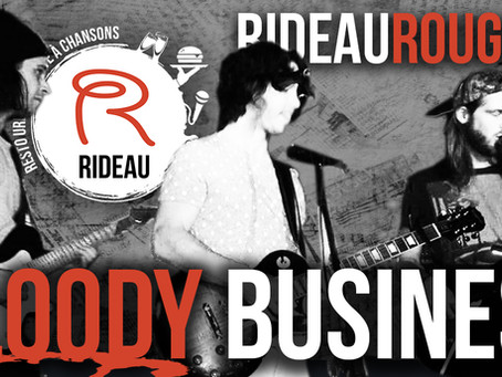 Le groupe de musique Bloody Business Band en spectacle au restaurant Rideau Rouge