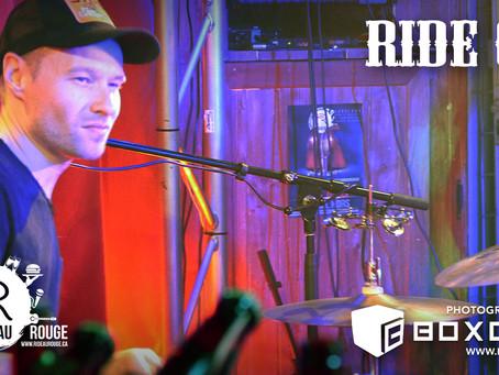 Le groupe Ride On - en spectacle - Rideau Rouge - Ville de Québec