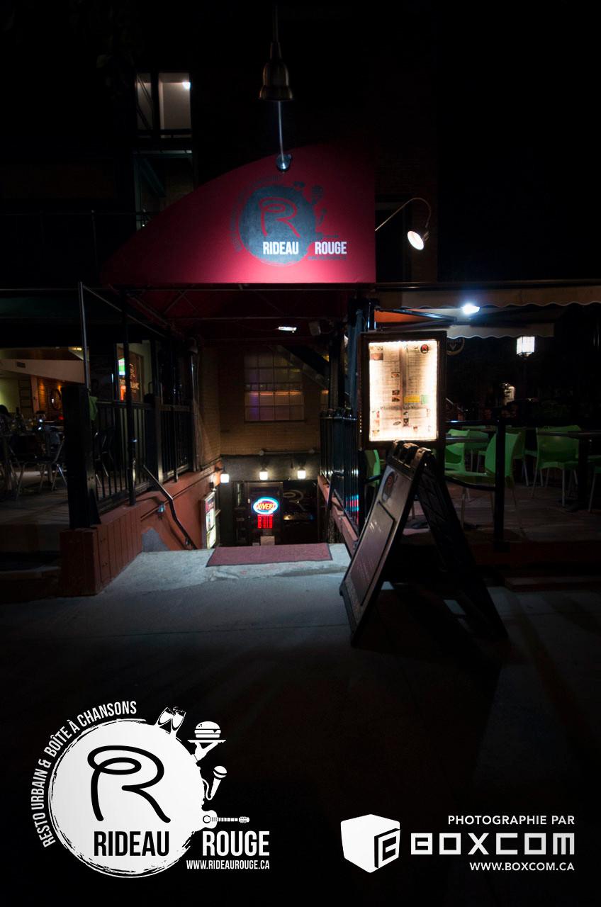 Restaurant - Bar - Le - Rideau - Rouge