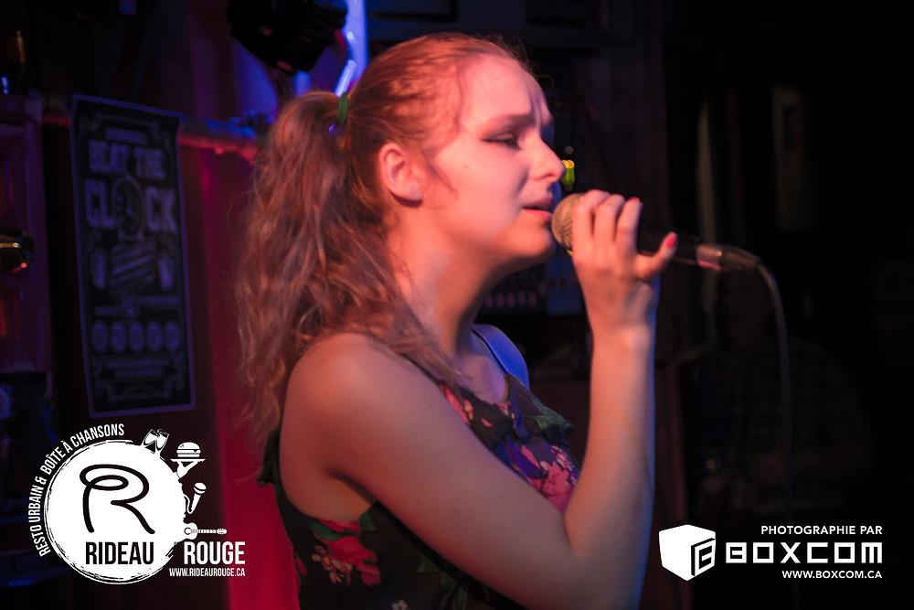 Megan Jobin au Rideau Rouge