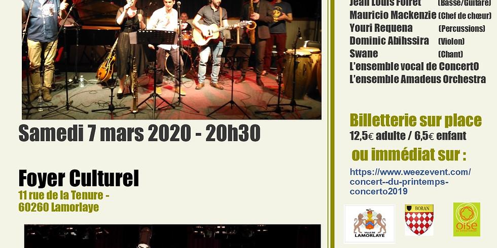 Concert du Printemps avec ConcertO