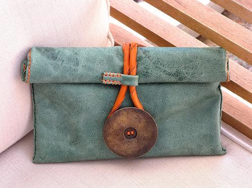 "Leather Clutch Bag ""Teresa"""