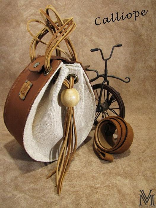 handmade bag Calliopoe