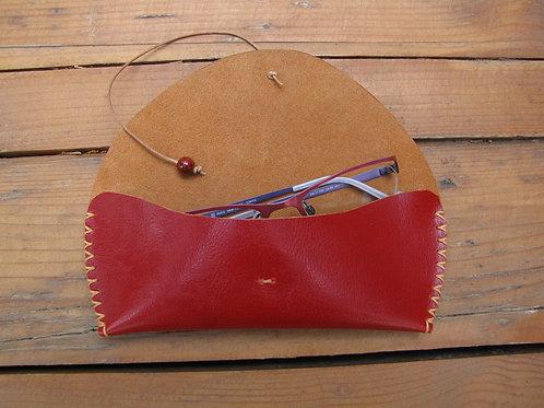 Leather Eyeglasses Case