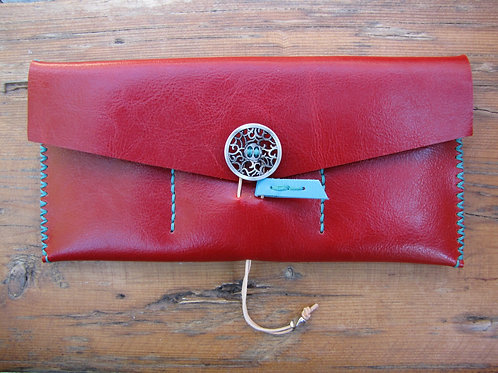 "Leather Wallet ""Calla"""