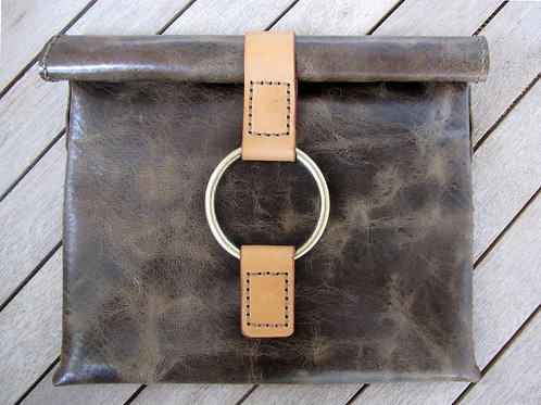 "Leather Clutch Bag ""Sammy II"""