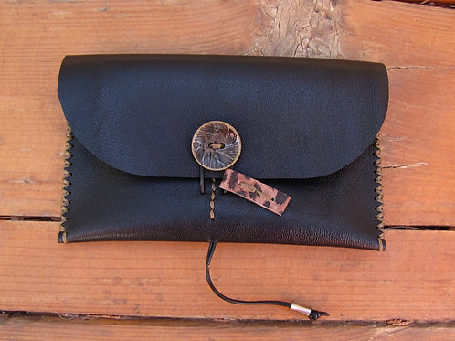 "Leather Wallet ""Lily"""