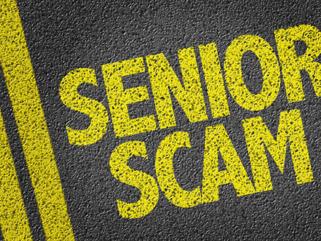Being alert to scams