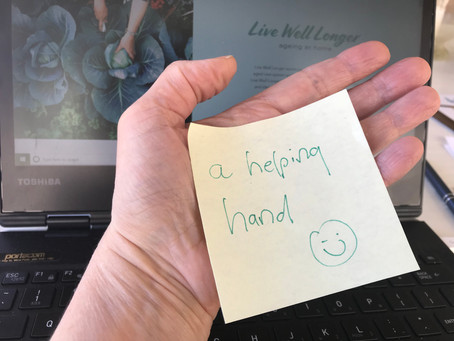 Recognising when help might be needed