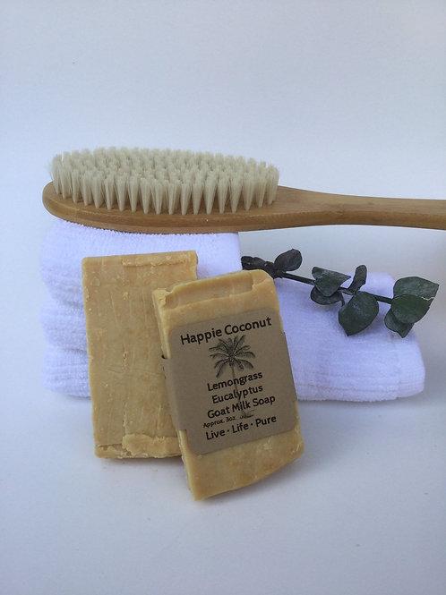Lemongrass Eucalyptus Goat Milk Soap