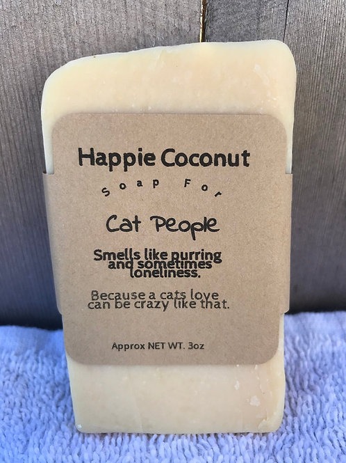 Cat People Goat Milk Soap