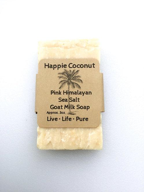 Pink Himalayan Salt Goat Milk Soap