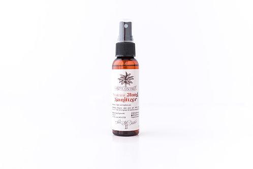 Natural Hand Sanitizer- Organic, All-natural Hand Sanitizer With Lemongrass 2oz