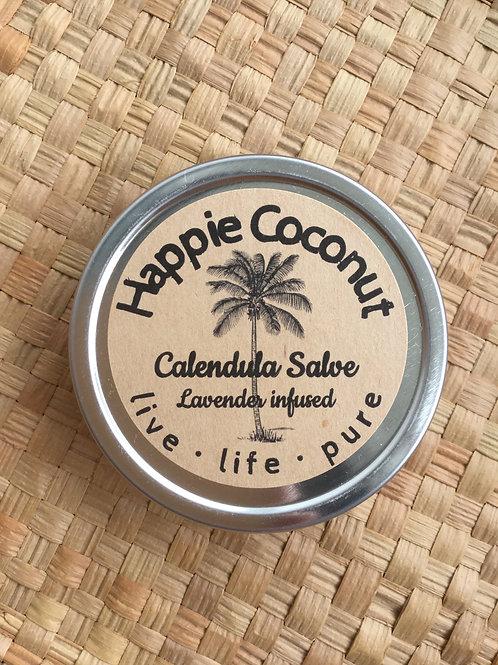 Organic Calendula Salve with Lavender