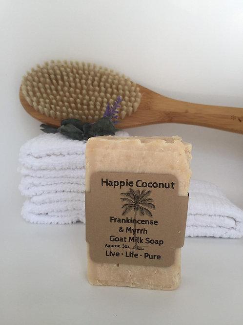 Frakincense & Myrrh With Shea Butter Goat Milk Soap