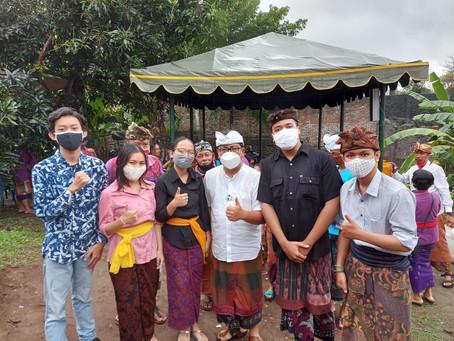 Relawan YouthABLE Chapter Bali Berpartisipasi dalam Kegiatan Peresmian Kebun Bisabilitas