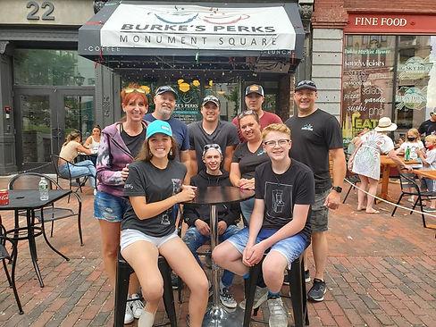 Burke's Perks Coffee Shop, Monument Square