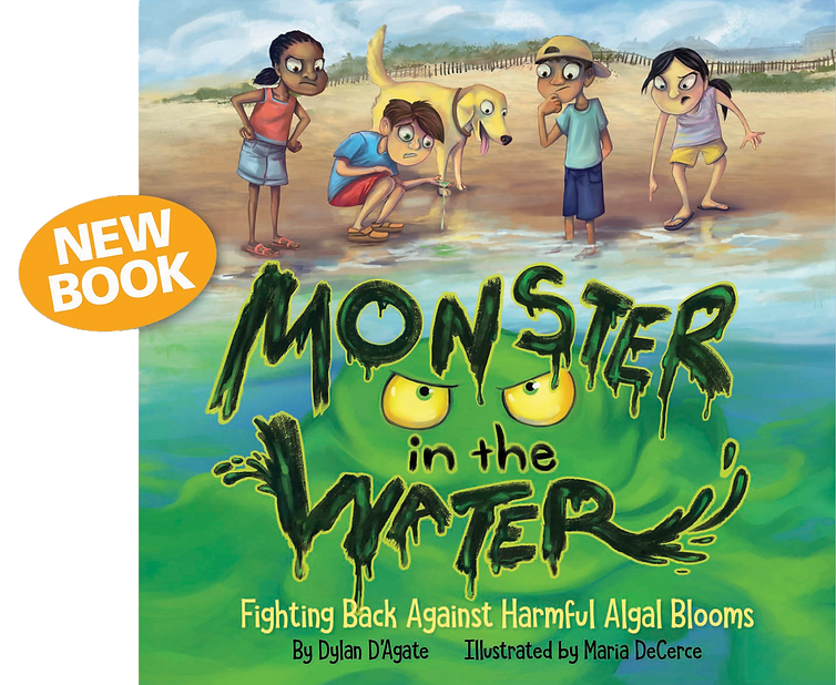 Beat the Bloom | Monster in the Water by Dylan D'Agate | Harmful Algal Blooms
