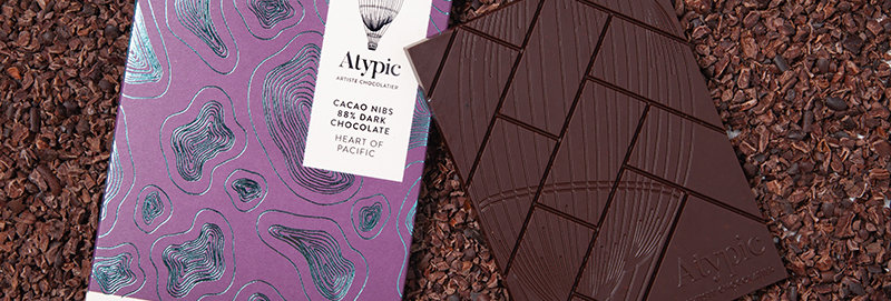 ATYPIC CHOCOLATE - 88% Dark Heart Of Pacific