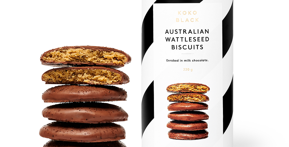 KOKO BLACK - Australian Wattleseed Biscuits