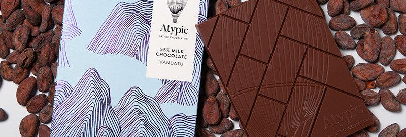 ATYPIC CHOCOLATE - 50% Milk Vanuatu