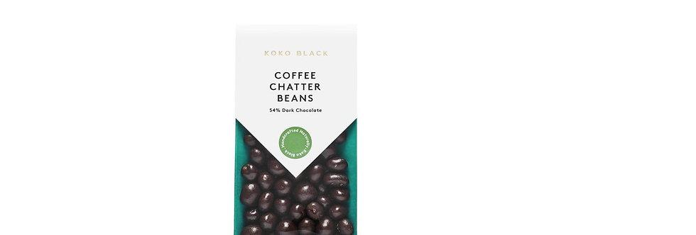 KOKO BLACK - Coffee Chatter Beans 100g   Dark Chocolate