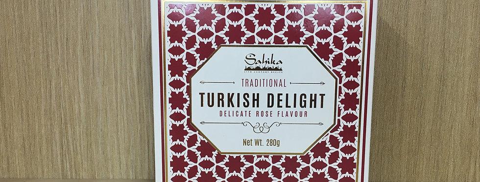 SAHIKA TURKISH DELIGHT - Rose Flavour 280g