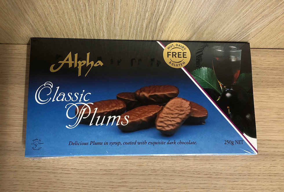 ALPHA - Classic Plums 250g