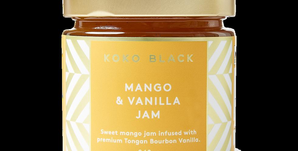 KOKO BLACK - Mango & Vanilla Jam 240g