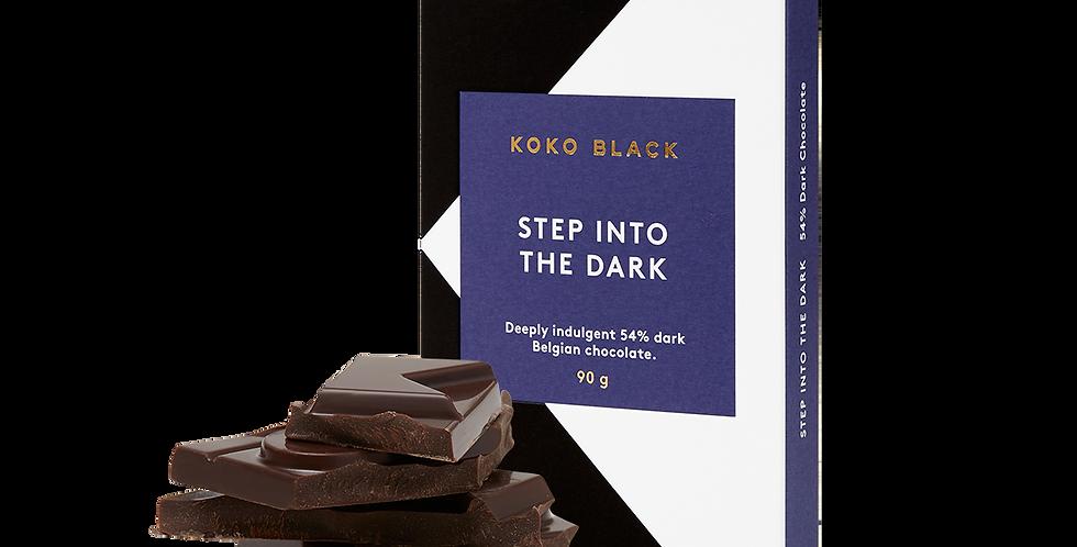 KOKO BLACK - Step into the Dark   54% Dark Chocolate Block