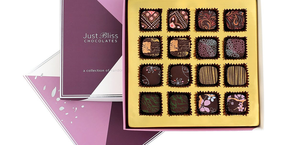 JUST BLISS - Couture Collection Dark 16 piece box