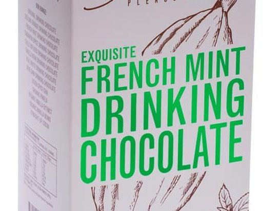 GROUNDED PLEASURES - French Mint Drinking Chocolate 200g