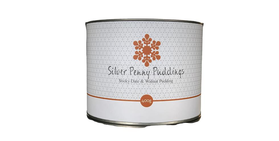 SILVER PENNY PUDDINGS - Sticky Date & Walnut Pudding 400g
