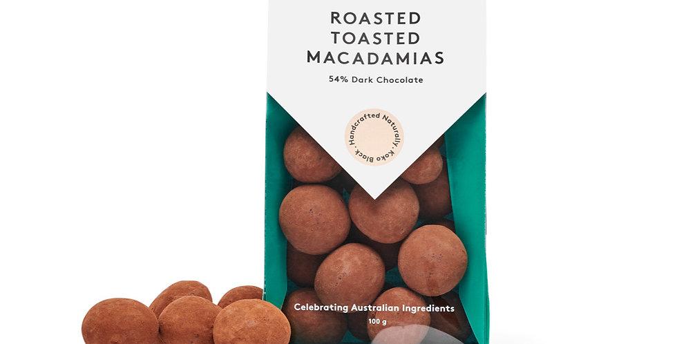 KOKO BLACK - Roasted Toasted Macadamia Dark 100g