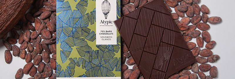 ATYPIC CHOCOLATE - 70% Dark Solomon Islands