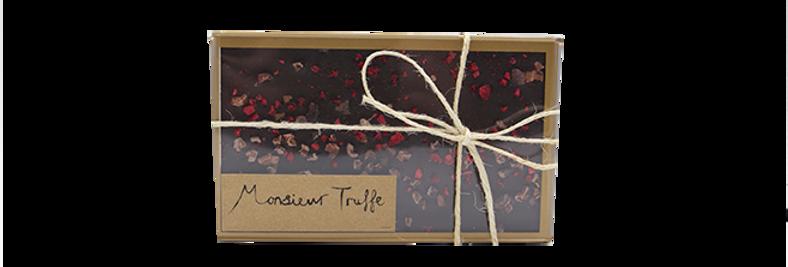 MONSIEUR TRUFFE - Thins Dark Chocolate