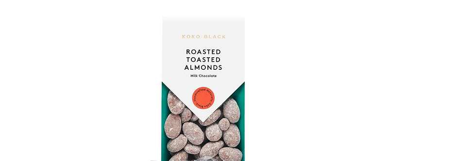KOKO BLACK - Roasted Toasted Almonds Milk 100g