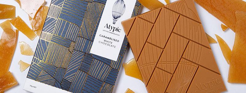 ATYPIC CHOCOLATE - Caramelised White Chocolate