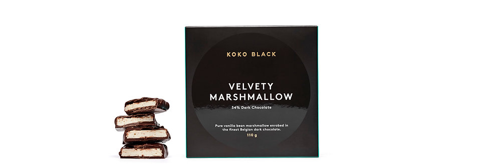 KOKO BLACK - Velvety Marshmallow Dark 110g