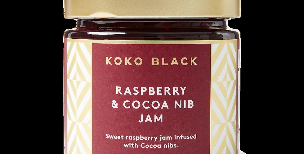 KOKO BLACK - Raspberry & Cocoa Nibs Jam 240g