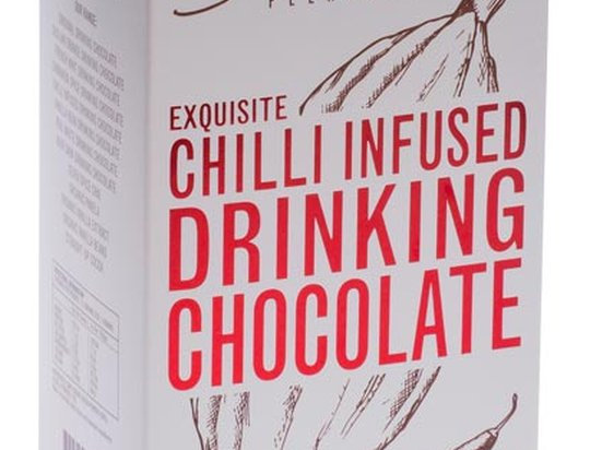 GROUNDED PLEASURES - Chilli Infused Drinking Chocolate 200g