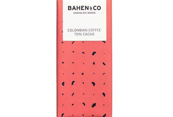 BAHEN - Colombian Coffee 70% Cacao 75g